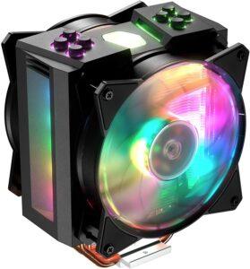 散热风扇推荐Cooler Master MasterAir MA410M Addressable RGB CPU Air Cooler