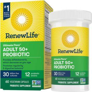 益生菌推荐Renew Life Ultimate Flora Adult 50+ Probiotic