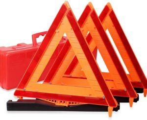 反光警告道路安全三角套件 Reflective Warning Road Safety Triangle Kit