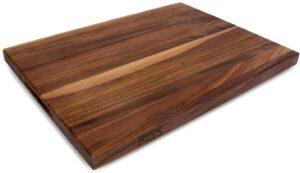 坚固耐用的切肉板 John Boos Walnut Wood Reversible Cutting Board