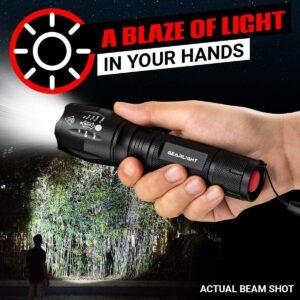卡车司机必备耐用的 LED 手电筒 GearLight LED Tactical Flashlight