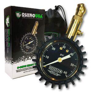 胎压表 Rhino USA Heavy Duty Tire Pressure Gauge