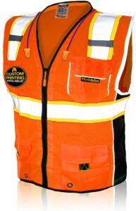 高能见度的安全背心 KwikSafety High Visibility Reflective Safety Vest