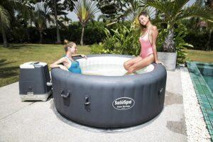 Bestway Palm Springs 充气热水浴缸 Bestway Palm Springs Inflatable Hot Tub Spa