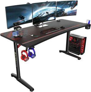 升降桌推荐:Eureka Ergonomic Computer Adjustable Height Desk 60 inch