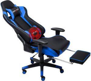 带脚蹬的电竞椅NOKAXUS Gaming Chair Large Size