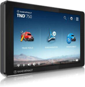 Rand McNally TND 750卡车GPS导航器 Rand McNally TND 750 7-inch GPS Truck Navigator