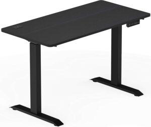 升降桌推荐SHW Electric Memory Preset Height Adjustable Computer Desk, 48 x 24 Inches