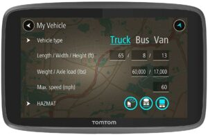 TomTom 620卡车Gps导航设备 TomTom Trucker 620 6-Inch Gps Navigation Device for Trucks