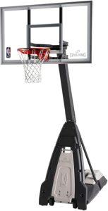 强化玻璃便携式篮球架 Spalding The Beast Glass Portable Basketball Hoop