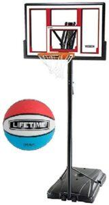 户外可调节篮球架 Lifetime 90491 Portable Basketball System
