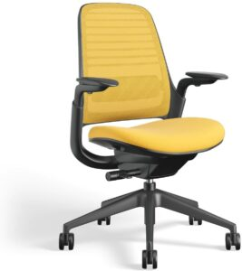 整体最佳办公椅品牌 Steelcase Series 1 (Steelcase 系列 1 人体工学网布工作椅)