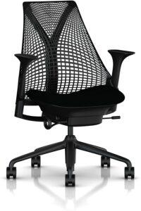 无框靠背透气办公椅 Herman Miller Sayl Chair
