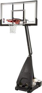 混合型便携式篮球架 Spalding Ultimate Hybrid Portable Basketball Hoop