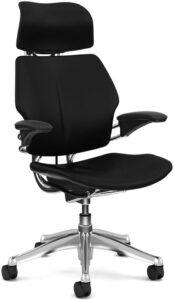 高级带头枕的人体工学办公椅 Freedom Chair by Humanscale