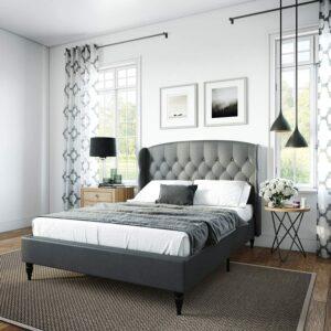 美国床架推荐Classic Brands Coventry Upholstered Bed Frame