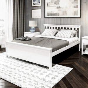 美国床架推荐Plank+Beam Solid Wood Bed Frame