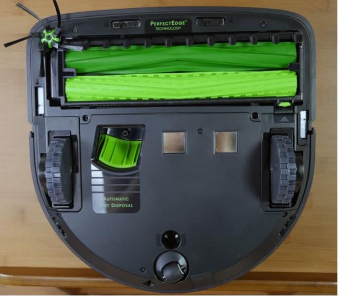 Roomba S9+的底面