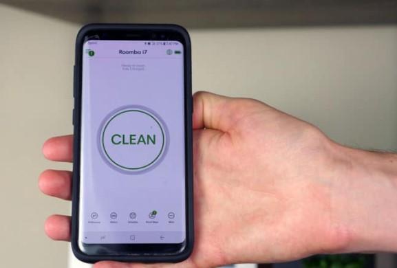 iRobot Roomba 智能手机应用程序