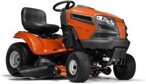 价格最实惠的坐骑式除草机之一 Husqvarna YTH18542 42 in 18.5 HP Briggs & Stratton Hydrostatic Riding Mower