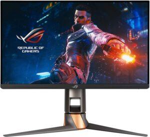 华硕 25寸 ROG Swift PG259QN 游戏显示器 ASUS ROG Swift 360Hz PG259QN 24.5HDR Gaming Monitor, 1080P Full HD, Fast IPS, 1ms, G-SYNC