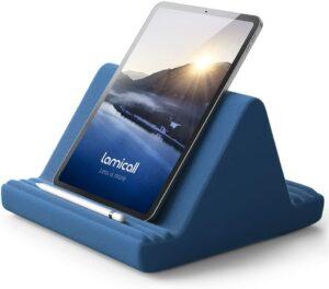 实心多角度IPAD支架带笔架 Tablet Pillow Stand