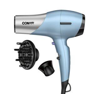 康奈尔吹风机 Conair 1600 Watt Fine Hair Dryer with Ceramic Plus Technology for Fine, Delicate Hair