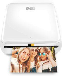 手机打印机 KODAK Step Wireless Mobile Photo Mini Printer (Compatible w iOS & Android, NFC & Bluetooth Devices)