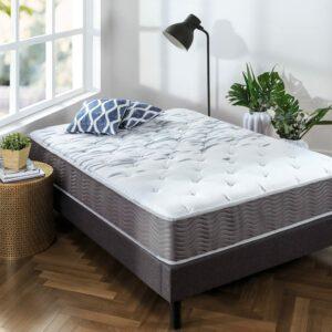最坚定混合弹簧床垫:Zinus Extra Firm iCoil 10 英寸支撑加床垫