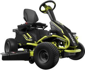 电池供电的骑乘式除草机 Ryobi 38INCH Battery Electric Rear Engine Riding Lawn Mower