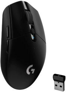 电池寿命长的罗技鼠标 Logitech G305 LIGHTSPEED Wireless Gaming Mouse