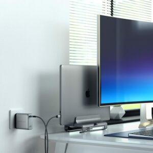 100W USB-C PD 壁式充电器 Satechi 100W USB-C PD Wall Charger