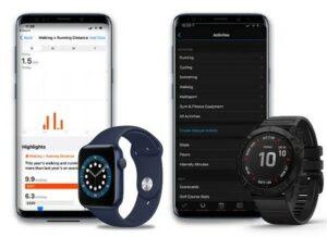 Apple Watch 6 和 Garmin Fenix 6X Pro对比