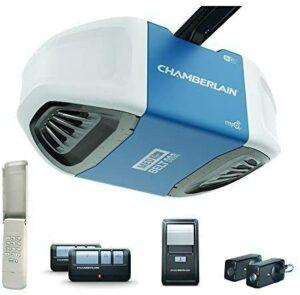 车库门开启器Chamberlain B550 Smartphone-Controlled Ultra-Quiet & Strong Belt Drive Garage Door Opener
