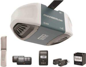 车库门开启器Chamberlain B970T Smart Garage Door Opener with Battery Backup