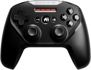 SteelSeries Nimbus+ 蓝牙游戏手柄 SteelSeries Nimbus+ Bluetooth Mobile Gaming Controller with iPhone Mount