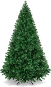 价格便宜的圣诞树 Best Choice Products 6ft Premium Hinged Artificial Holiday Christmas Tree