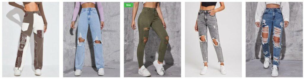 女装牛仔裤: