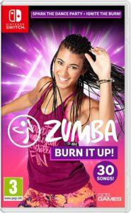 Nintendo Switch健身游戏推荐【让你真正享受锻炼】 Zumba Burn It Up