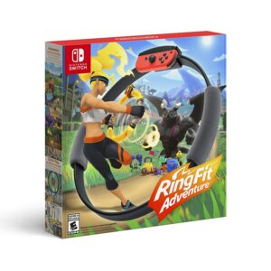 Nintendo Switch健身游戏推荐 Ring Fit Adventure